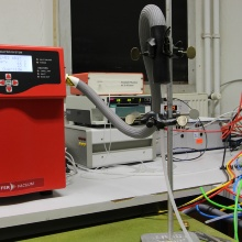 Measurement setup of the lung project